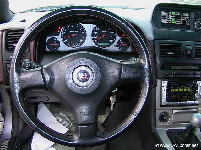 Nissan Skyline R32 Interior. Official Nissan Skyline
